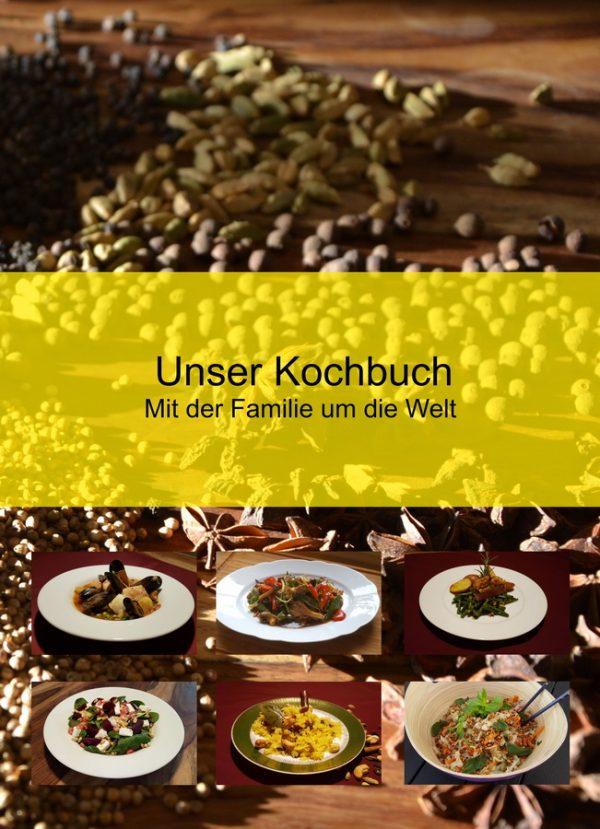 Unser Kochbuch - Mit der Familie um die Welt - Front