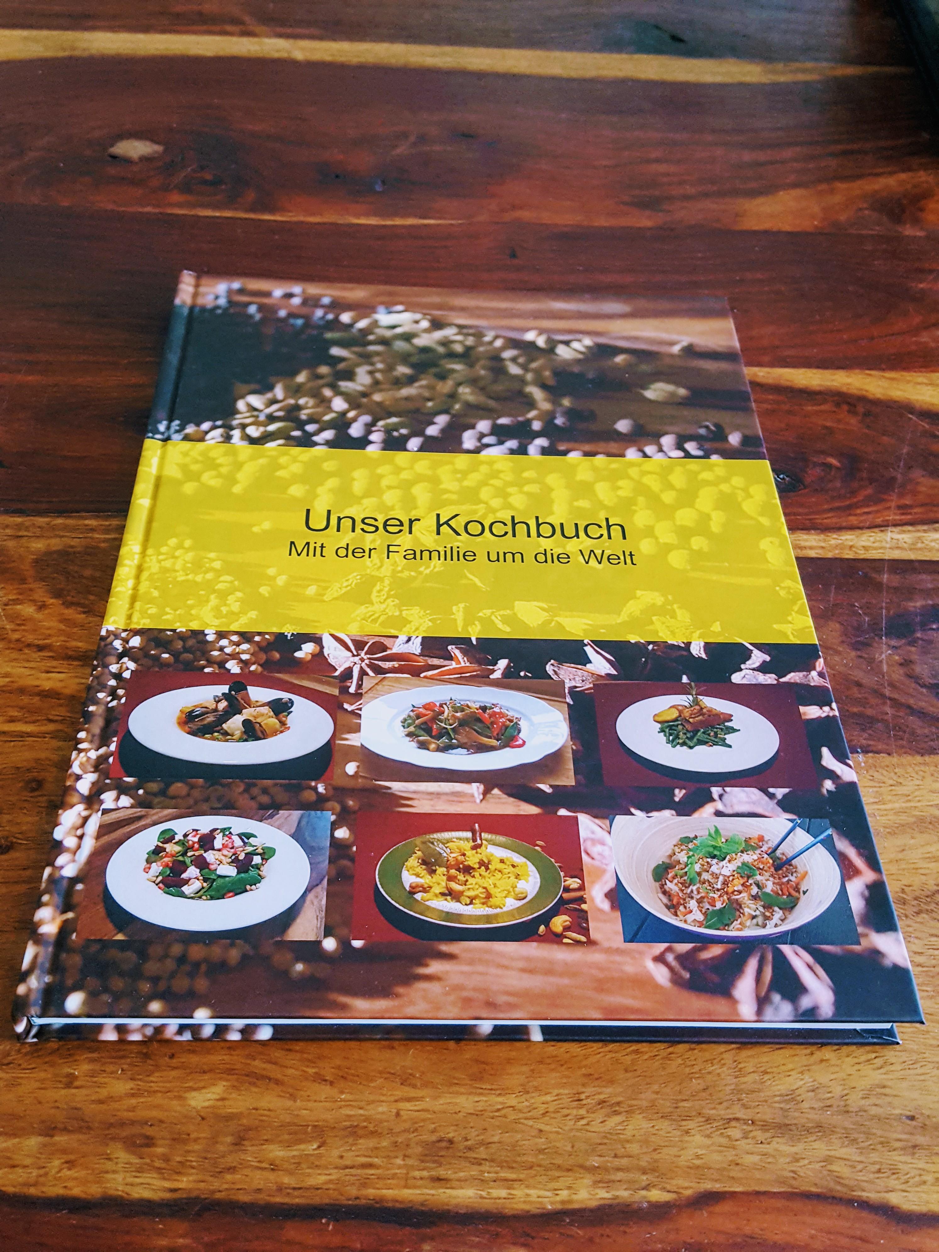 Unser Kochbuch - Mit der Familie um die Welt -Hardcover