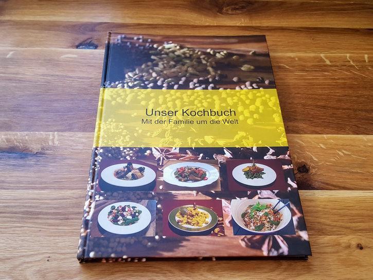 Unser Kochbuch Hardcover - Front