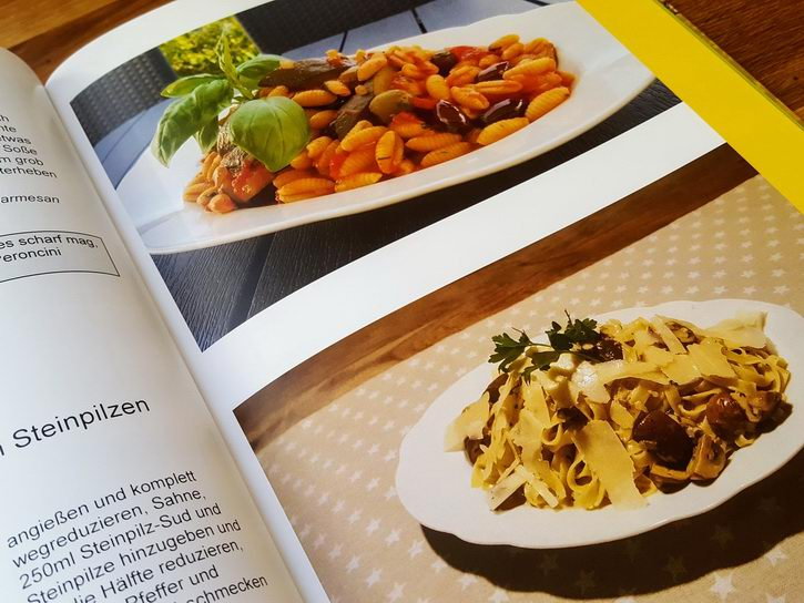 Unser Kochbuch Hardcover - Pasta